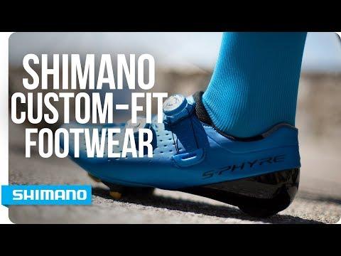 Custom-fit Shimano cycling Footwear | SHIMANO