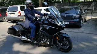 10. NEW! BMW K1600 Bagger 2018 Quick Ride & Reverse Gear