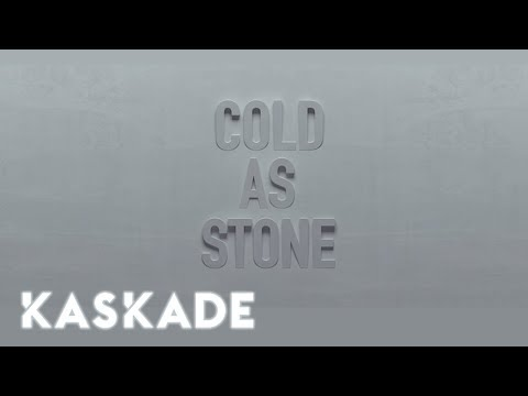 Kaskade |  Cold As Stone Ft. Charlotte Lawrence | Lyric Video