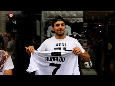 Cristiano Ronaldo alla Juventus: la reazione dei tifosi in coda per la maglia di CR7   Notizie.it