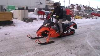 8. 2014 Artic Cat M8000 Sno Pro Snowmobile
