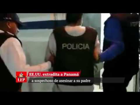 EEUU extradita a Panamá a sospechoso de asesinar a su padre