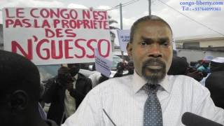 Interview de Poaty-Pangou sur le soutien de la France à Sassou-Nguesso