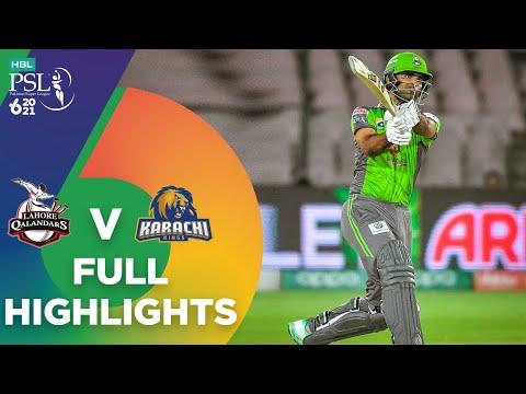 Full Highlights | Lahore Qalandars vs Karachi Kings | HBL PSL 6 | Match 11 | MG2T