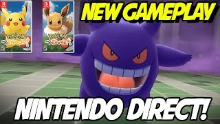 NEW! Lavender Town Gameplay and Nintendo Direct! Pokemon Let's Go Pikachu and Eevee! by aDrive