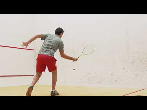 Squash tips: Hold straight drop with David Palmer