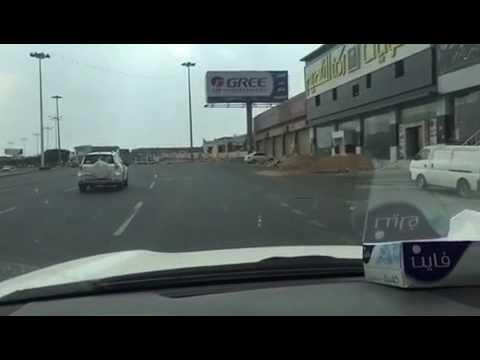 """#فيديو : مركبة ساهر بجوار كامير """"ساهر"""" في خميس مشيط !!"""