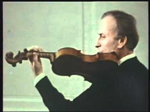 Yehudi Menuhin Violin Tutorial - 3. Left Hand First Exercises