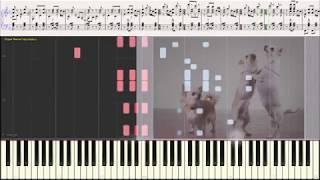 Собачий вальс (В год Собаки!) (Ноты, фортепиано, баян) (piano cover)