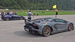 Lamborghini Aventador SVJ vs Mercedes-Benz CLK AMG DTM