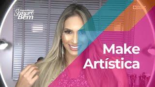 Make Artística Para A Festa