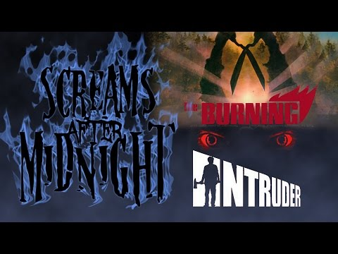 The Burning (1981) & Intruder (1989) Slasher Movie Double Feature Review