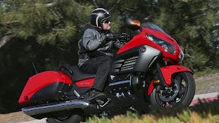 10. 2013 Honda Gold Wing F6B First Ride - MotoUSA