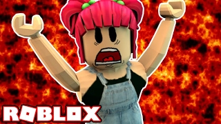 VOLCANO RAGE! | Roblox Volcano Escape! | Amy Lee33