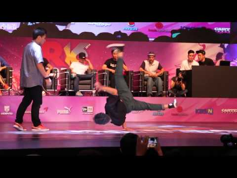 ISSEI v LIL ZOO / Final Battle / R16 2014 Final Bboy 1 on 1 / Allthatbreak.com