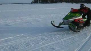 6. arctic cat F1000 blowing up