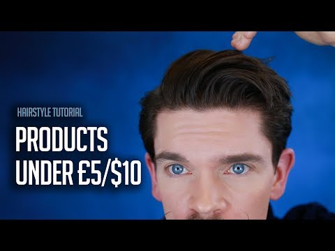 Mens hairstyles - Best of Budget  3 Step CLAY Hairstyle How To