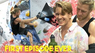Eric and Thor climbing together. Do we argue like an old couple? by Eric Karlsson Bouldering