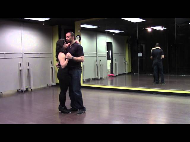 Kizomba Harmony Tutorial- Basic 1 by Monica Kay and Billy  Beginner