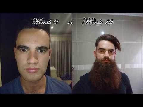 Yeard Time lapse: 365 Days of Growing a Beard