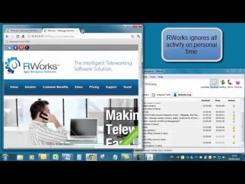 RWorks Teleworker Desktop Web Privacy