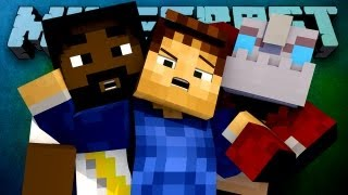 THE HUNGER FAILS! (Minecraft Hunger Games Episode 31 with Woof, Nooch, and Maximus!)