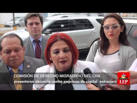 CNA denuncia el ejercicio ilegal de la profesión por extranjeros