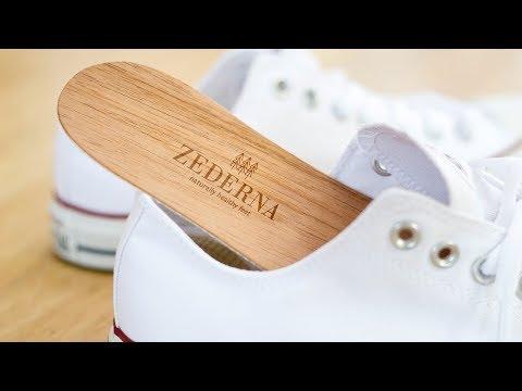 ZEDERNA - Anti-Odor Cedar Wood Insoles