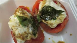 Burrata stuffed tomatoes by Louisiana Cajun Recipes