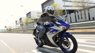 9. Yamaha YZF-R3 2015 | First Ride  | Motorcyclenews.com