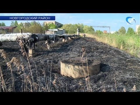 В Панковке произошло возгорание на теплотрассе