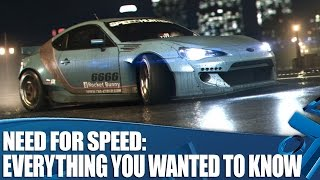 Need For Speed PS4 Gameplay - Everything you wanted to know