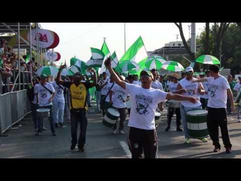 La Instrumental / Frente Radical / Desfile Cali Viejo Feria de Cali 2013 - Frente Radical Verdiblanco - Deportivo Cali
