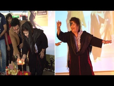 Indias First Dance Week With Sandip Soparrkar and Saroj Khan