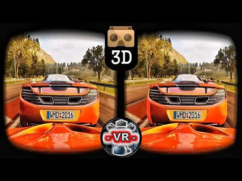 🔴 VR Videos 3D VR Project Cars 2 VR Gameplay 3D SBS For Google Cardboard VR Box 3D 360 VR Headset