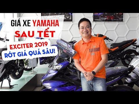 Giá xe Yamaha Exciter 150 2019 giảm sập sàn sau Tết - Thời lượng: 12:37.