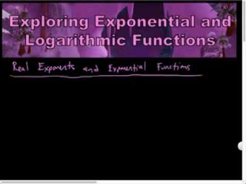 Real Exponents and Exponential Functions