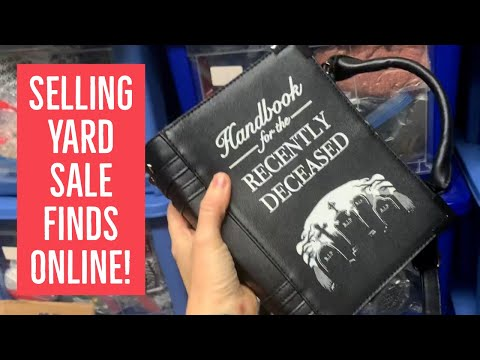 Selling YARD SALE Finds for BIG PROFIT Online! | Grab & Ship EBAY, POSHMARK & ETSY SALES With Me!