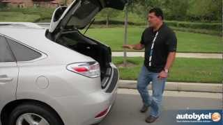 2012 Lexus RX 450h Hybrid Test Drive&Luxury Crossover SUV Video Review