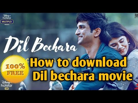 How to download Any Hollywood, bollywood,south Full movie in HD free || Download Dil Bechara movie