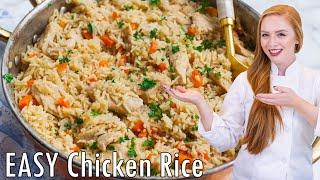 Easy Chicken Rice Pilaf - Плов с Курицей by Tatyana's Everyday Food