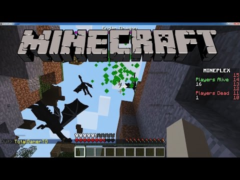 Brawl - Time for more Minecraft minigames on the Mineplex server! Can Evan win Survival Games?!!! We also try out Dragons & Bacon Brawl.
