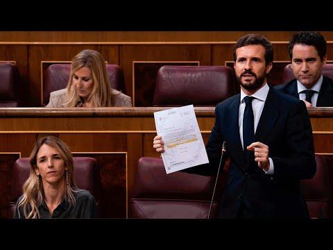 """""""Casado a Sánchez: """"En 2 años ha destrozado la economía, las libertades y el estado de bienestar"""""""
