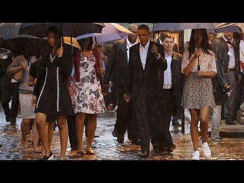 Κούβα: Σε κλίμα ενθουσιασμού η ιστορική επίσκεψη του Μπαράκ Ομπάμα