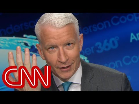 Anderson Cooper stunned by Trump's 'witch hunt' claim