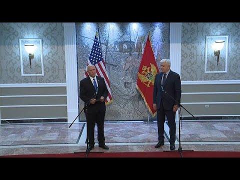 Μαυροβούνιο: Μηνύματα Πενς στη Ρωσία
