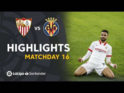 Highlights Sevilla FC vs Villarreal CF (2-0)