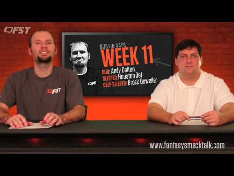 2015 Fantasy Football: Week 11 Fantasy Fix thumbnail