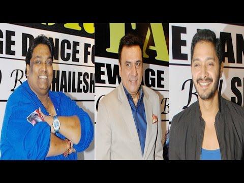 Bollywood celebs Raveena Tandon , Boman Irani , Ganesh Acharya at Star Night 2014