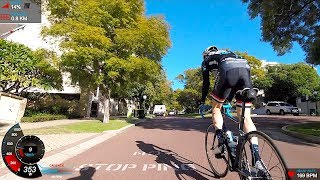 A magnificent day in Perth for some hill repeats up Mount Street just west of the CBD. 5x repeats alternating in the saddle and out. Post effort endurance ride for more kms in the legs. Session Breakdown:5x 200m hill repeats ~1-2min each. Alternating seated/standing. Long endurance ride post efforts.Subscribe for notification of new videos! https://goo.gl/QS5YZg♫Music By♫●Dennis Kumar - Serene [Bass Rebels Release]●Song/Free Download - https://youtu.be/1RybMJUFqto●iTunes, Spotify, GooglePlay - http://smarturl.it/br-serene●Follow Dennis Kumar - http://smarturl.it/Dennis-Kumar-­-­-­-­­---------Web: http://shanemiller.netInstagram: http://instagram.com/gplamaStrava: https://www.strava.com/athletes/gplamaTwitter: https://twitter.com/gplamaYouTube: https://www.youtube.com/user/gplama/--------------------------